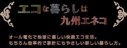 エコな暮らしは九州エネコ